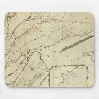 An Exact Chart of the River St Lawrence Mouse Pad