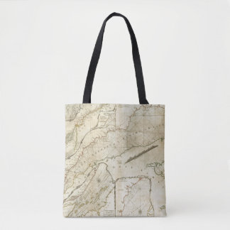 An Exact Chart of the River St Lawrence Tote Bag