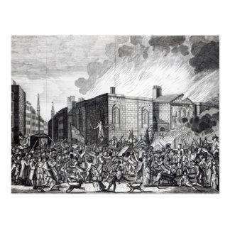 An exact representation of the Burning Postcard