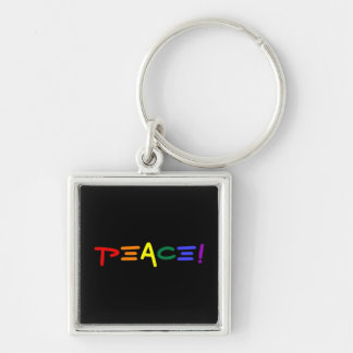 An Exclamation of Peace Key Chains