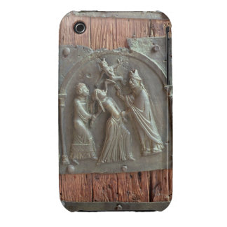 An Exorcism, panel from the right hand door, 12th iPhone 3 Case-Mate Cases