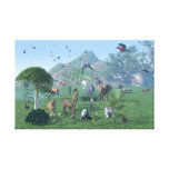 An exotic wild animal scene Wrapped Canvas Gallery Wrapped Canvas