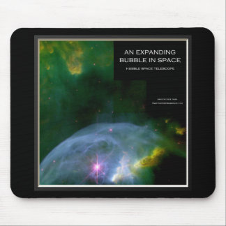 An Expanding Bubble in Space Mousepad