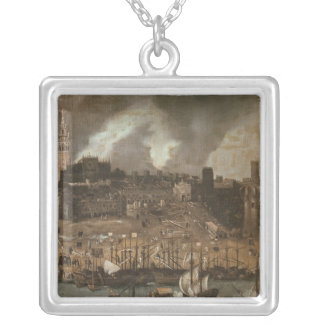 An Expedition Setting out from Seville for Square Pendant Necklace