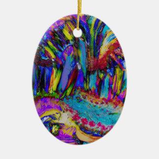 An explosion of Joy Ceramic Ornament