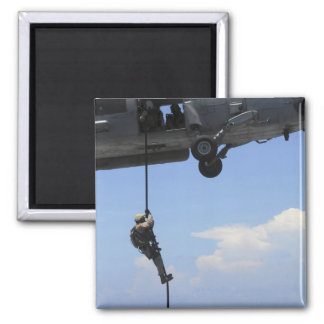 An explosive ordinance disposal technician 2 inch square magnet