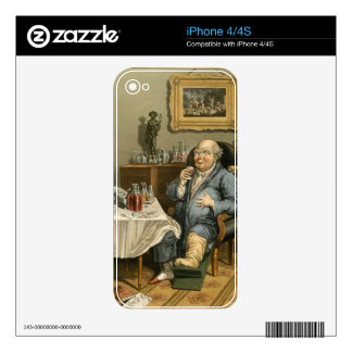 An Exquisite Taste, with an Enlarged Understanding iPhone 4 Skin