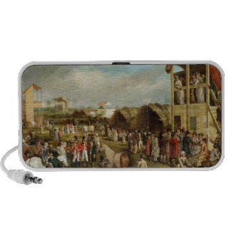 An Extensive View of the Oxford Races (oil on canv Mp3 Speaker