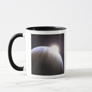 An extrasolar planet with its parent star mug