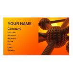 An eye catching futuristic design business card