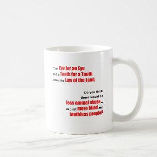 An Eye for an Eye Classic White Coffee Mug