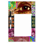 AN EYE for Art : Elegant Miniature Art Collage Dry-Erase Board
