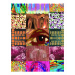 AN EYE for Art : Elegant Miniature Art Collage Personalized Letterhead