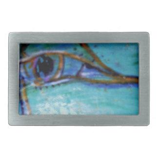 An Eye of an Artist Rectangular Belt Buckles