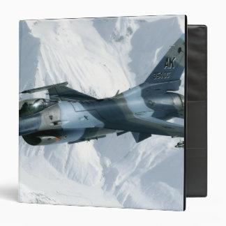 An F-16 Aggressor 3 Ring Binder