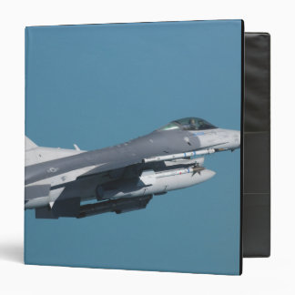 An F-16 Fighting Falcon in flight Binder