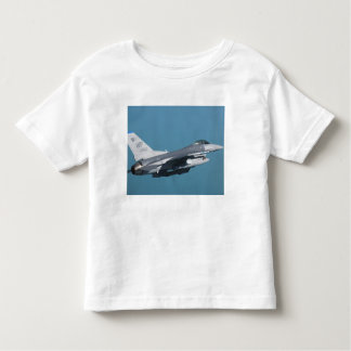 An F-16 Fighting Falcon in flight Toddler T-shirt