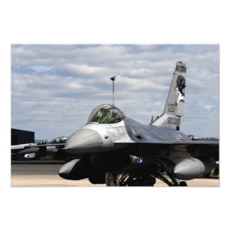 An F-16 Fighting Falcon Photo Print