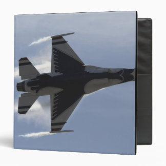 An F-16 Fighting Falcon pulls high G's Binder