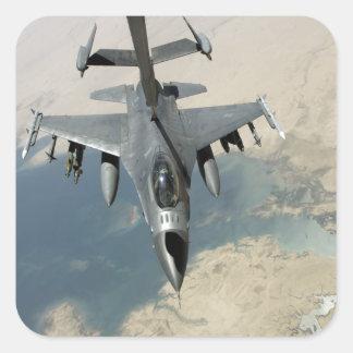 An F-16 Fighting Falcon refuels Sticker