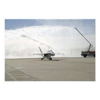 An F-18 aircraft Art Photo