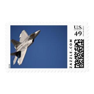 An F-22 Raptor aircraft Postage