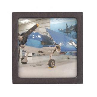 An F-6F Hellcat World War II fighter plane at Premium Trinket Box