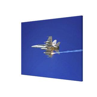 An F/A-18C Hornet Canvas Print