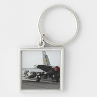 An F A-18C Hornet launches from the flight deck 2 Key Chains
