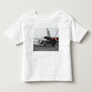 An F/A-18C Hornet launches from the flight deck 2 Toddler T-shirt