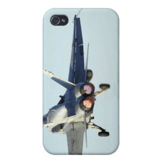 An F/A-18C Hornet launches from the flight deck iPhone 4/4S Cases