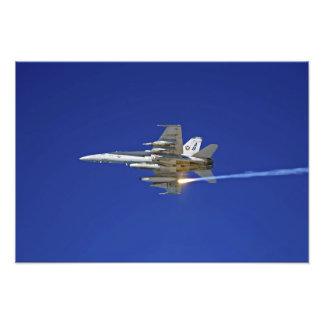 An F/A-18C Hornet Photo Print