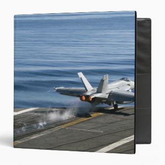 An F/A-18E Super Hornet Binder