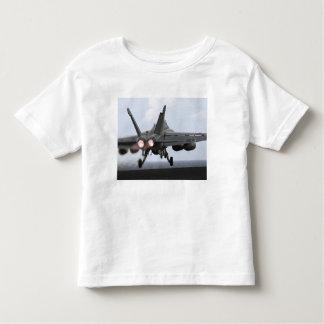 An F/A-18E Super Hornet launches Toddler T-shirt