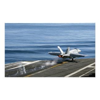 An F/A-18E Super Hornet Photo Print