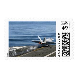 An F/A-18E Super Hornet Postage Stamp