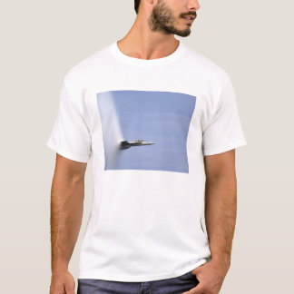 An F/A-18E Super Hornet reaches the speed of so T-Shirt