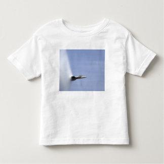 An F/A-18E Super Hornet reaches the speed of so Toddler T-shirt
