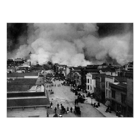 an Francisco Earthquake of 1906 Poster