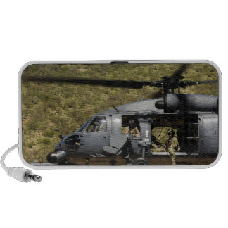 An HH-60 Pave Hawk flies over the desert Portable Speakers