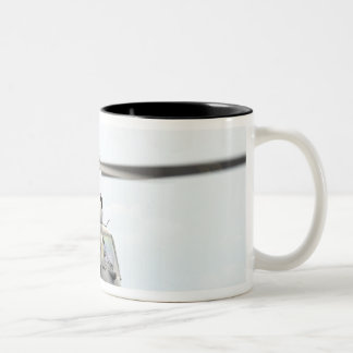 An HH-60 Pave Hawk helicopter Two-Tone Coffee Mug
