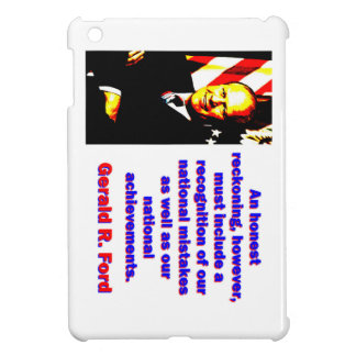 An Honest Reckoning - Gerald Ford iPad Mini Cover