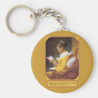 An Hour Reading Keychain