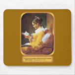 An Hour Reading Mouse Pad