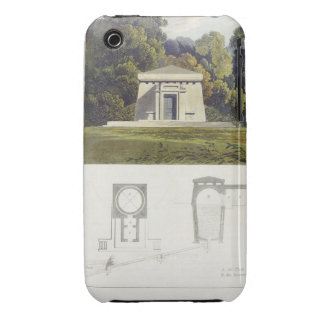 An Ice House, from Ackermann's 'Repository of Arts iPhone 3 Case