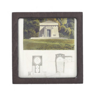 An Ice House, from Ackermann's 'Repository of Arts Premium Trinket Box