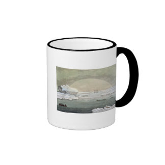 An iced-in British whaleboat is liberated by the s Coffee Mug