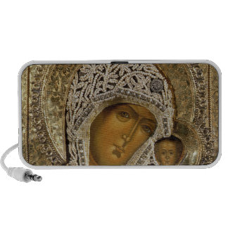 An icon showing the Virgin of Kazan Mp3 Speaker