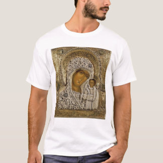 An icon showing the Virgin of Kazan T-Shirt