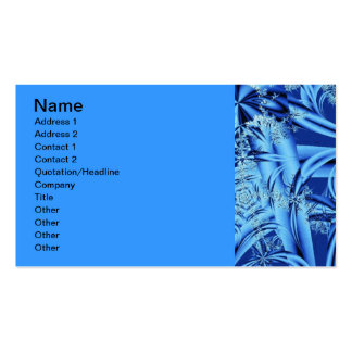an-icy-blue-fractal-1302998308AtB Double-Sided Standard Business Cards (Pack Of 100)